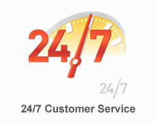 24/7 Customer Services
