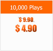 10000 Plays at $4.90