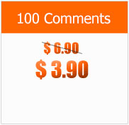 100 Comments at $3.90